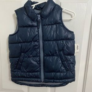 Old Navy Frost-Free Puffer Vest for Toddler Boys